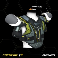 BAUER 1S axelskydd - SR