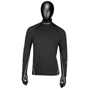 NG PREMIUM INT.NECK LS TOP YTH - BLK