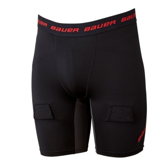 BAUER Suspshorts Essential Compression - JR