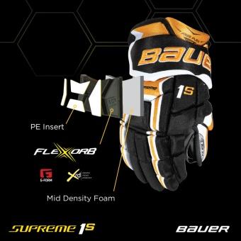 BAUER 1S handskar - JR