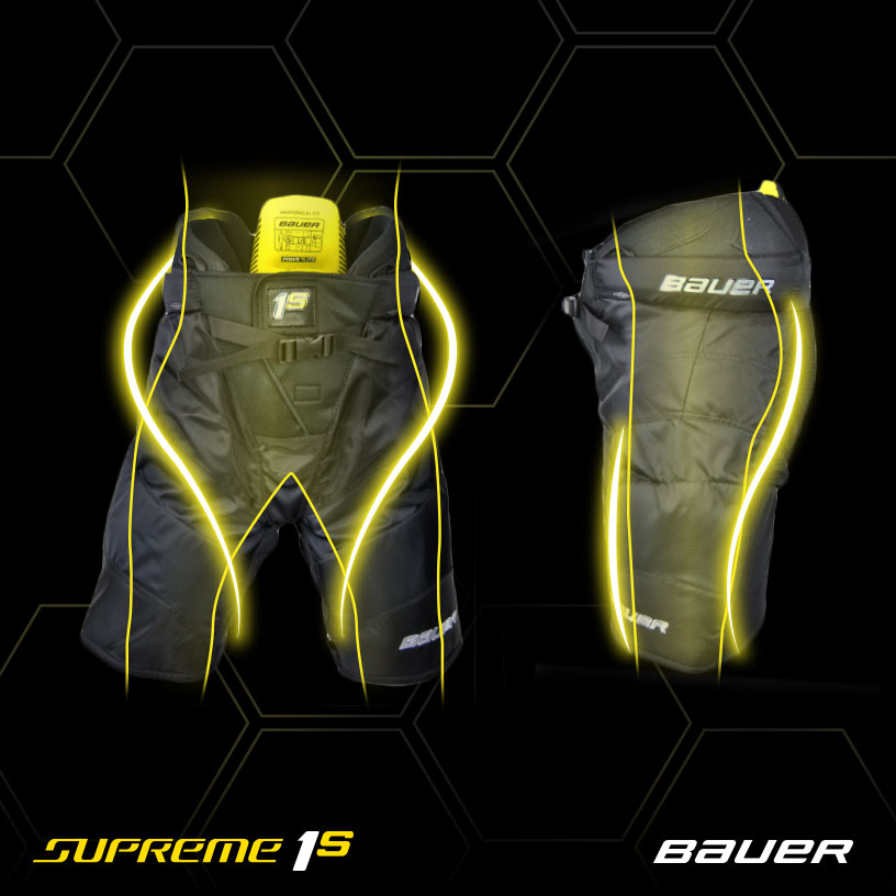 BAUER 1S byxor - SR