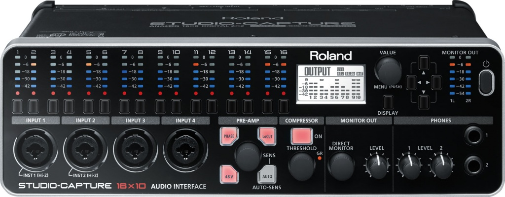 Ljudkort Roland Studio Capture