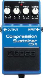 Effektpedal BOSS Compression Sustainer CS-3