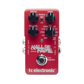 Effektpedal Tc Electronic Hall of Fame