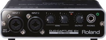 Ljudkort Roland Duo-Capture EX