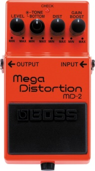 Effektpedal BOSS Mega Distortion MD-2