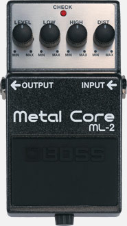 Effektpedal Boss Metalcore ML-2
