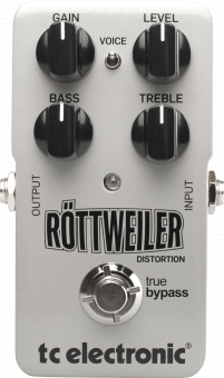 Effektpedal TC Electronic Röttweiler Metal Distortion