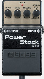 Effektpedal Boss Power Stack ST-2