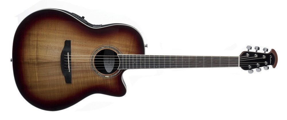 Ovation E-Acoustic Guitar Celebrity Standard Plus Super Shallow CS28P-KOAB
