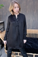 Viveka Blouse Viscose Black