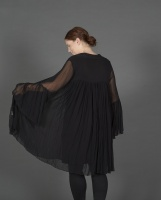 Modicken Blouse Party Black