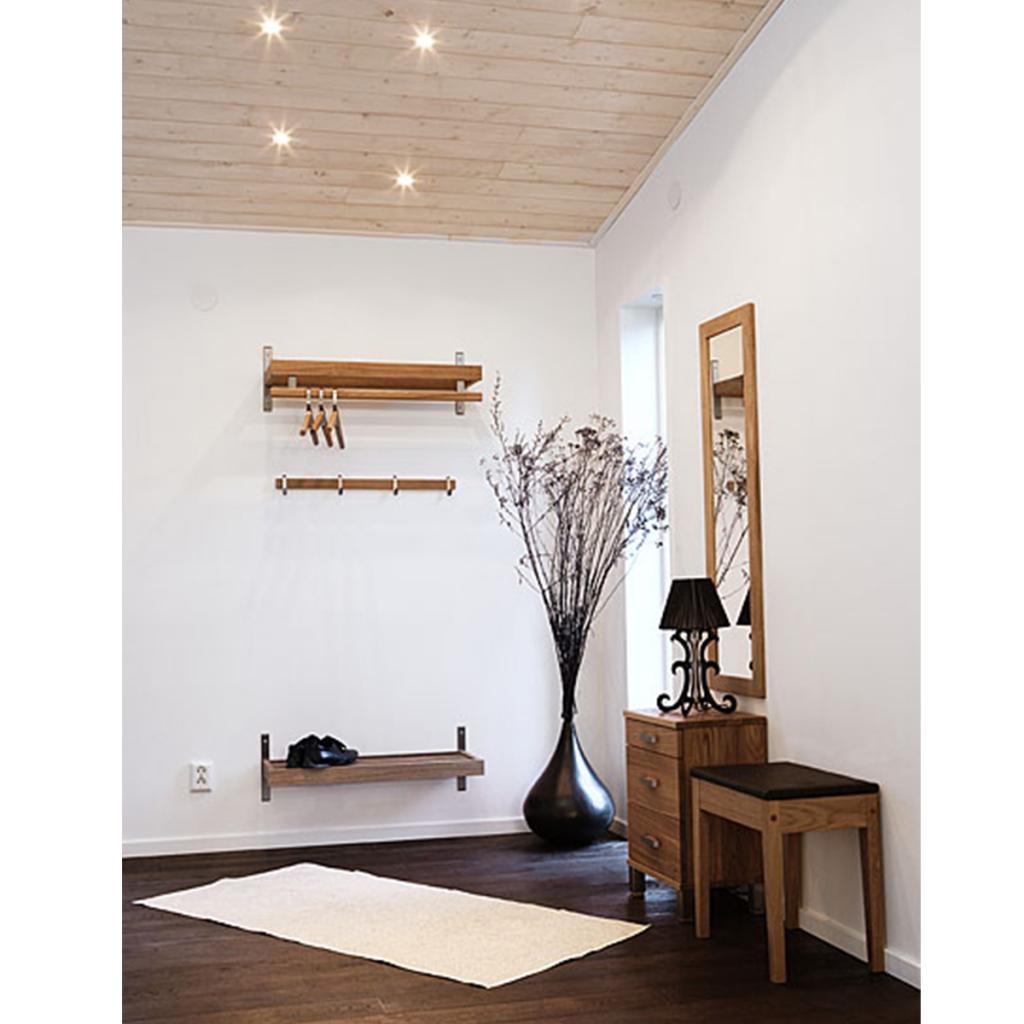 Mediamöbel vägg : Nadja skohylla vägg l100cm inneboende