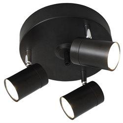Correct takspot med 3 lampor