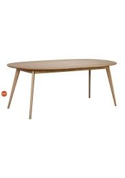 Yumi matbord oval
