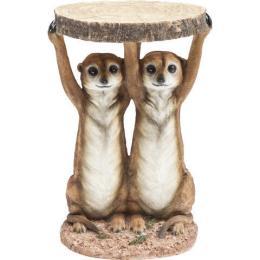 Meerkat sisters sidobord