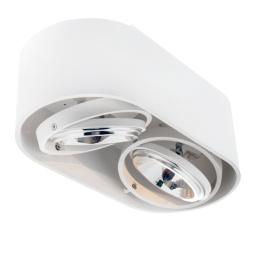 Top Spot LED spotlight 2-låg Sandvit