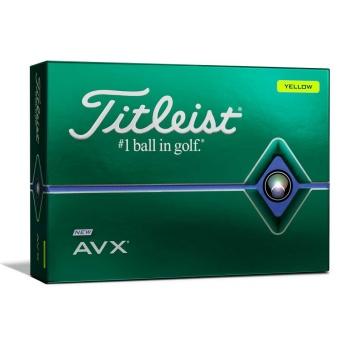 Titleist AVX Golfbollar Gula