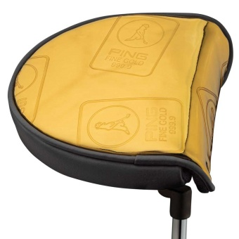 Ping Valut Gold Mallet Headcover