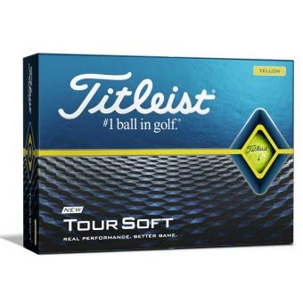 Titleist Tour Soft Golfbollar Gula