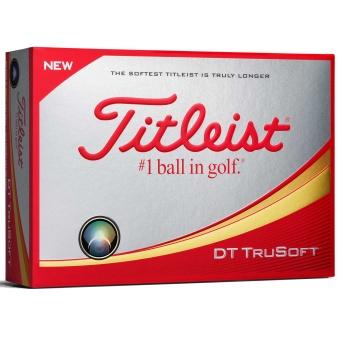 Titleist DT TruSoft Golfbollar