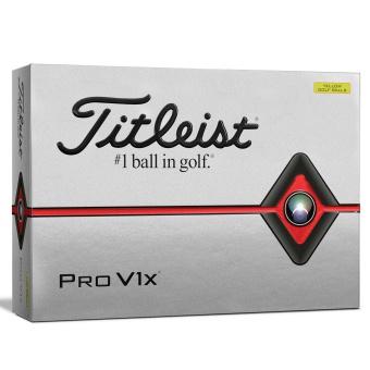 Titleist PRO V1X Golfbollar Gula