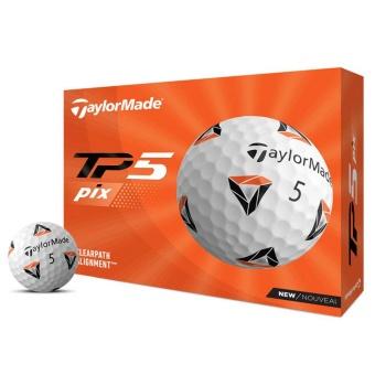 Taylor Made TP5 PIX 2.0 Golfbollar