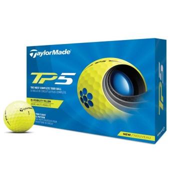 Taylor Made TP5 Golfbollar Gula