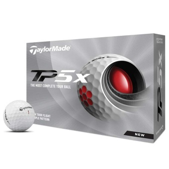 Taylor Made TP5X Golfbollar