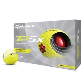 Taylor Made TP5X Golfbollar Gula