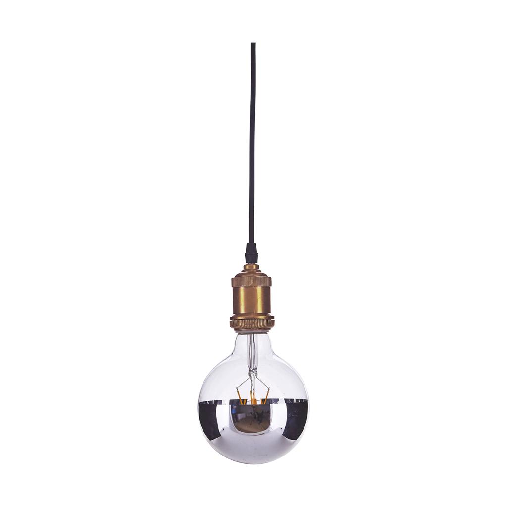 House Doctor LED/Horizontal Silver E27 - 2W