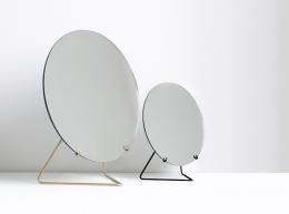 Moebe Spegel Standing Mirror Brass 30 CM