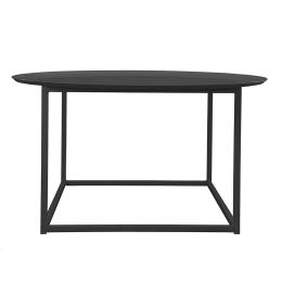 DOMO Round Square Table Svart Large