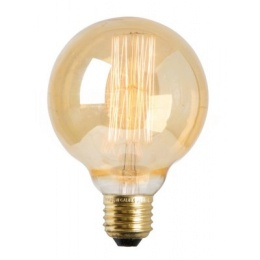 Watt & Veke Glödlampa Rund Guld 80