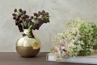 Skultuna Boule Vase Mässing Extra Small