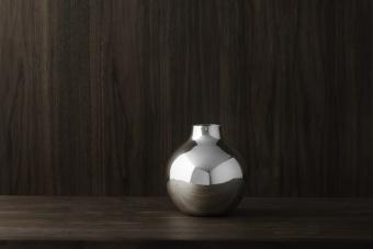 Skultuna Boule Vase Silver Extra Small