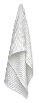 The Organic Company Big Waffle Towel White