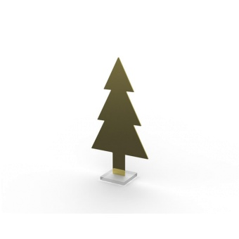 Cooee Design Tree SML Brass
