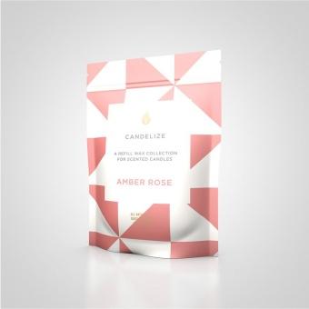 Candelize Refill Doftljus Amber Rose
