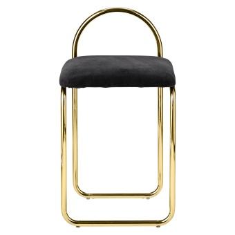 AYTM Angui Chair Svart sammet/Mässing