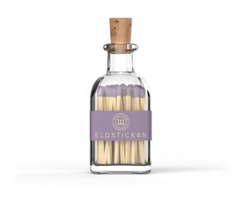 Eldstickan Tändstickor Liten Lavendel