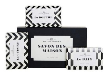 Victor Vaissier Three Soap Bar Set
