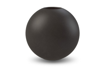 Cooee Ball Vase Black 30 cm