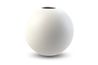 Cooee Ball Vase White 30 cm