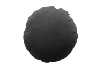 Christina Lundsteen Kudde Basic Round Dark Grey