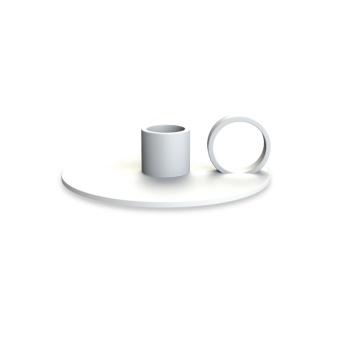 Cooee Candlestick Loop White
