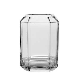 Louise Roe Jewel Vase Large Clear