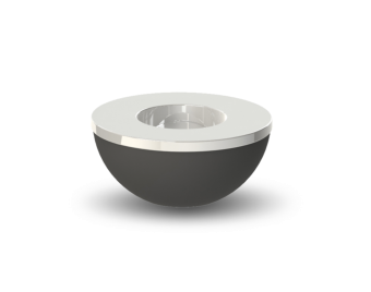 Cooee Light Bowl Black