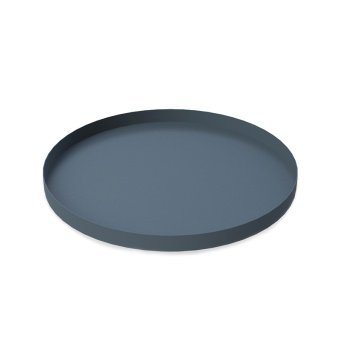 Cooee Tray Circle Midnight Blue