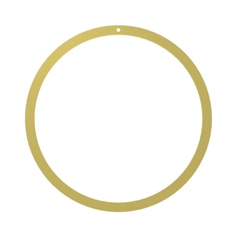 Cooee Wreath Brass 40 cm